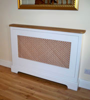 Bespoke joinery, radiator covers from Mandalay Flooring